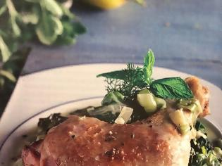 Φωτογραφία για #Μένουμε_στο_σπίτι_Μαγειρεύουμε_στο_σπίτι: Κοτόπουλο φρικασέ, αυγολέμονο