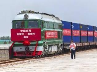 Φωτογραφία για Κίνα: Ετήσια αύξηση 66% στον αριθμό εμπορικών αμαξοστοιχιών προς την Ευρώπη τον Ιανουάριο.