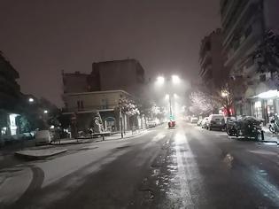 Φωτογραφία για Tρίκαλα: Απαγόρευση κυκλοφορίας λόγω χιονόπτωσης και παγετού σε περιοχές της Π.Ε. Τρικάλων