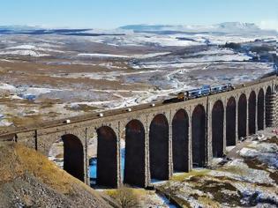 Φωτογραφία για Βρετανία: Έργα επισκευής  στην ιστορική σιδηροδρομική γέφυρα Ribblehead ύψους 2,5 εκατομμύρια ευρώ.