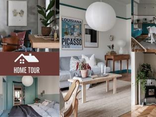Φωτογραφία για Ένα εντυπωσιακό διαμέρισμα διακοσμημένο με βάση το Πετρόλ