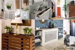 DIY Κατασκευές επένδυσης Καλοριφέρ