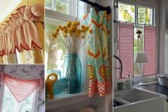 50+ Ιδέες για τις Κουρτίνες της Κουζίνας