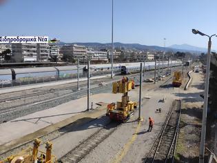 Φωτογραφία για Στο φουλ οι μηχανές για την ολοκλήρωση των έργων στο αμαξοστάσιο της ΤΡΑΙΝΟΣΕ στη Θεσσαλονίκη.