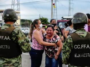 Φωτογραφία για Ισημερινός : Λουτρό αίματος στις φυλακές - Πάνω από 60 νεκροί κατά τη διάρκεια εξεγέρσεων