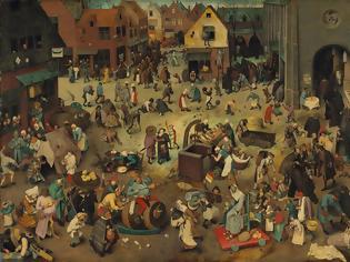 Φωτογραφία για Πίτερ Μπρίγκελ-Η μάχη μεταξύ Καρναβαλιού και Σαρακοστής(1559)