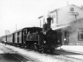 Φωτογραφία για 3 Νοεμβρίου 1909: Εκτροχίασις της εξ Αθηνών αμαξοστοιχίας.