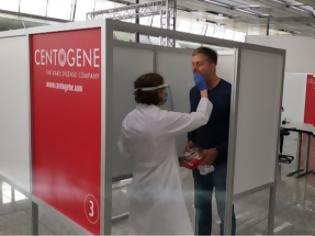 Φωτογραφία για Yποχρεωτικά τεστ σε επιχειρήσεις ετοιμάζει η Γερμανία