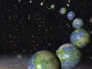Φωτογραφία για O γαλαξίας ίσως είναι γεμάτος πλανήτες με ωκεανούς και ηπείρους σαν τη Γη