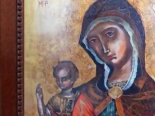 Φωτογραφία για Παναγία Επιβλέπουσα: Η θρυλική εικόνα επέστρεψε στη Θράκη!
