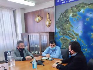 Φωτογραφία για Δήμος Πύργου: Συνάντηση με τον Διευθύνοντα Σύμβουλο του ΟΣΕ.