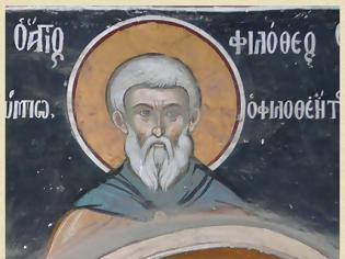 Φωτογραφία για Άγιος Φιλόθεος, κτήτορας μονής Φιλοθέου (10ος αι.) / Saint Philotheos, founder of Philotheou monastery (10th c.)