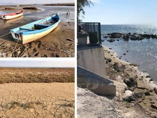 Φωτογραφία για Χαμηλή στάθμη της θάλασσας: Πού οφείλεται το φαινόμενο των τελευταίων ημερών