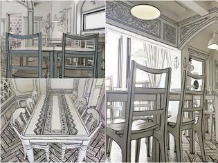 Φωτογραφία για Το Cafe που μοιάζει με σκηνικό κινουμένων σχεδίων