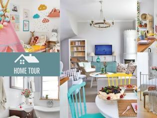 Φωτογραφία για Ένα πραγματικά ...χαρούμενο σπίτι, γεμάτο χρώμα