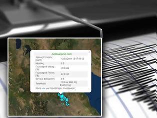 Φωτογραφία για Σεισμική δόνηση 5,2 Ρίχτερ στην Ελασσόνα