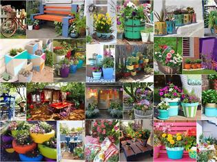 Φωτογραφία για 30+ Ιδέες για να προσθέσετε χρώμα στον κήπο ή το μπαλκόνι