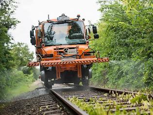 Φωτογραφία για Unimog rail road – ένα «πολυεργαλείο» στον σιδηρόδρομο. Δείτε video και εικόνες.
