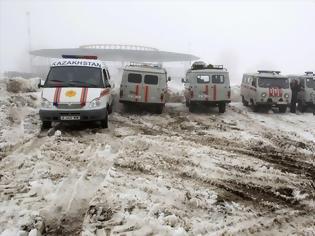 Φωτογραφία για Καζακστάν: Συντριβή στρατιωτικού αεροσκάφους με 4 νεκρούς