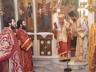 Φωτογραφία για Εις Διάκονον χειροτονία του π. Γεωργίου Γιαπατζή στον ιερό ενοριακό ναό Αγίων Αρτεμίου και Γερασίμου Πενταπλατάνου Γιαννιτσών
