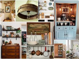 Φωτογραφία για Πως θα αξιοποιήσετε παλιά αντικείμενα - έπιπλα στην διακόσμηση της Κουζίνας