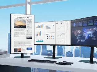 Φωτογραφία για Η νέες τελευταίες οθόνες υψηλής ανάλυσης της Samsung 24 έως 34 ίντσες για επιχειρήσεις διαθέτουν όλες HDR