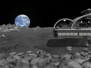 Φωτογραφία για Ξεκίνησε το real estate στην Σελήνη