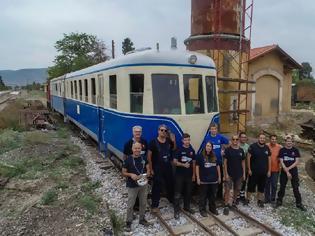Φωτογραφία για Linke Hofmann: Το στολίδι του Θεσσαλικού Σιδηρόδρομου ψάχνει στέγη. Εικόνες και βίντεο.