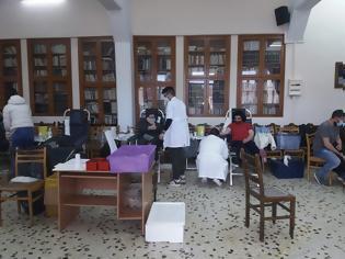 Φωτογραφία για Με μεγάλη επιτυχία ολοκληρώθηκε η εθελοντική αιμοδοσία του Πολιτιστικού Λαογραφικού Συλλόγου Γυναικών Αστακού.