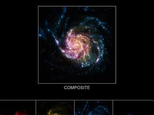 Φωτογραφία για Οι διαφορετικές αποχρώσεις ενός γαλαξία