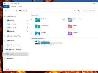 Φωτογραφία για O ανανεωμένος file explorer με τα ολοκαίνουργια εικονίδια στα Windows 10