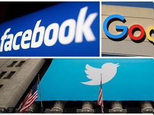 Φωτογραφία για Facebook,Twitter και Google στο στόχαστρο του Κογκρέσου για την παραπληροφόρηση