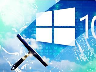 """Φωτογραφία για KAΘΑΡΑ Windows 10 μαζί, βήμα – βήμα… και να κάνουμε το PC να """"πετάει""""!!!"""