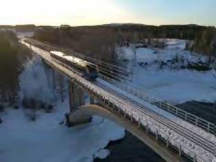 Φωτογραφία για Πρώτη σιδηροδρομική σύνδεση Φινλανδίας-Σουηδίας.