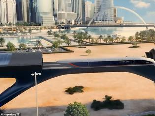 Φωτογραφία για Hyperloop: Το ολοκληρωμένο σχέδιο για το πρώτο υπερηχητικό τρένο. Βίντεο.