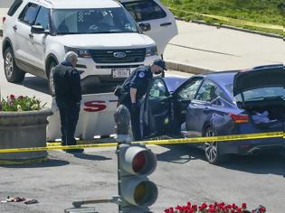 Φωτογραφία για Επίθεση στο Καπιτώλιο: Νεκροί ο δράστης και ένας φρουρός - Σε κρίσιμη κατάσταση ο άλλος αστυνομικός