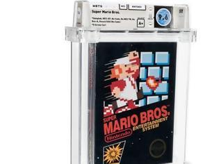 Φωτογραφία για Σφραγισμένο αντίτυπο του Super Mario Bros. πωλήθηκε έναντι $660,000