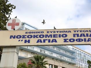 """Φωτογραφία για Κοροναϊός - Ελλάδα: Νεκρό 15χρονο κορίτσι από τον ιό στο Παίδων """"Αγία Σοφία"""""""