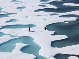 Φωτογραφία για Η Αρκτική λιώνει η Ευρώπη παγώνει