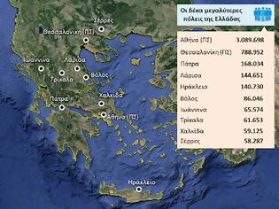 Φωτογραφία για Γεωγραφία Ε΄ τάξης: Κεφάλαιο 32ο Οι πόλεις της Ελλάδας