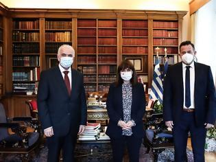 Φωτογραφία για Η Πρόεδρος της Δημοκρατίας Κατερίνα Σακελλαροπούλου την Κυριακή των Βαΐων (25 Απριλίου) στην Ι.Π. Μεσολογγίου