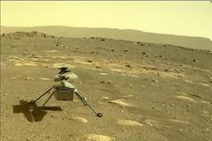 Το drone της NASA στον Άρη κατάφερε να επιζήσει ολομόναχο το βράδυ