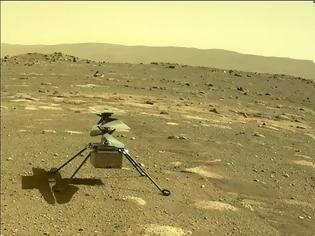 Φωτογραφία για Το drone της NASA στον Άρη κατάφερε να επιζήσει ολομόναχο το βράδυ