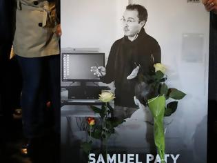 Φωτογραφία για Γαλλία: Βρέθηκε φωτογραφία του δολοφονηθέντος καθηγητή Σαμουέλ Πατί σε διαμέρισμα 18χρονης