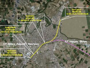 Φωτογραφία για Δημοπρατείται η τοποθέτηση 9,5 χλμ ηχοπετασμάτων κατά μήκος των γραμμών του ΟΣΕ στη Λάρισα.