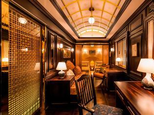 Φωτογραφία για Ταξιδεύοντας με το πιο πολυτελές τρένο στον κόσμο (βίντεο).
