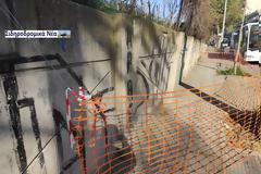 Στη περίφραξη του Σ.Σ. Θεσσαλονίκης: Πλέγμα προστασίας για την ασφάλεια των πολιτών.