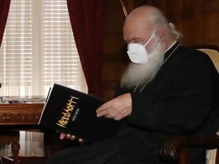 Φωτογραφία για Συνάντηση του Δημάρχου Ι.Π. Μεσολογγίου Κώστα Λύρου με τον Αρχιεπίσκοπο Αθηνών και Πάσης Ελλάδος κ. Ιερώνυμο