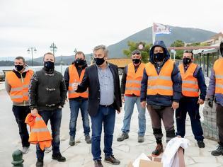 Φωτογραφία για Εθελοντικός καθαρισμός στο λιμάνι της Βόνιτσας.