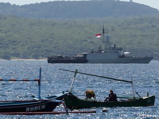 Φωτογραφία για Άφαντο το υποβρύχιο που χάθηκε στην Ινδονησία, οξυγόνο έως το Σάββατο έχει το πλήρωμα